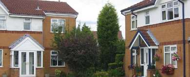 New Houses. Prestwich - geograph.org.uk - 9798