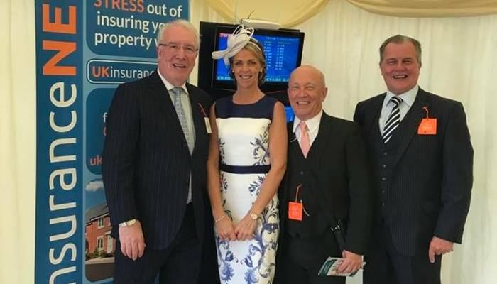 UKinsuranceNET board of directors at thirsk races