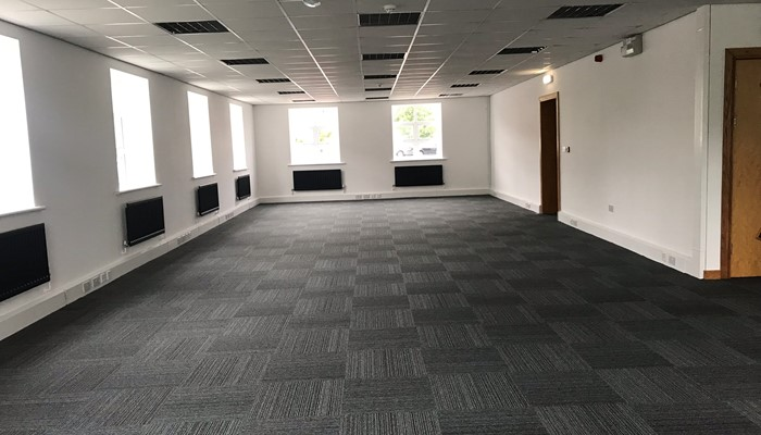 Sales Facing SE Office and Meeting Room Before